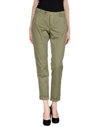 San Francisco Trousers Casual Trousers Women Military Green