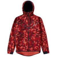 Nike Tech Fleece Camo Windrunner Red