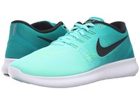 Nike Free Rn Hyper Turquoise Black Rio Teal Volt Men's Running Shoes Blue