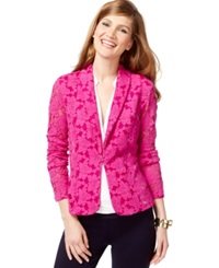 Inc International Concepts Lace Blazer Only At Macy's