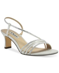 Nina Gerri Evening Sandals Women's Shoes Silver