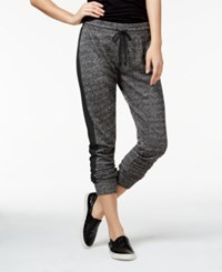 Material Girl Active Juniors' Colorblocked French Terry Sweatpants Only At Macy's Black