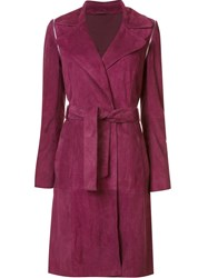 Zac Posen 'Gretchen' Coat Red