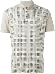 Z Zegna Printed Polo Shirt