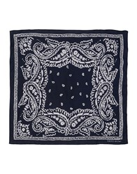 Jacob Cohen Jacob Coh N Square Scarves Dark Blue