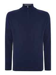 Duck And Cover Dynamo Crew Neck Knitwear French Navy