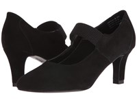 David Tate Dixie Black Suede Women's Boots