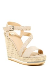 Joe's Jeans Rane Wedge Sandal White