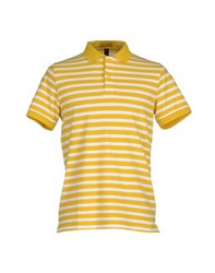 Sun 68 Topwear Polo Shirts Men Ochre