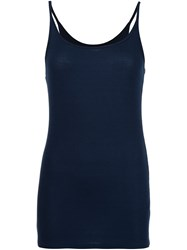 Atm Anthony Thomas Melillo 'Rib Cami' Top Blue