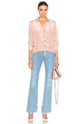 Mih Jeans M.I.H Oversize Top In Pink
