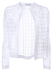 Piece D Anarchive Knitted Bolero White