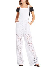 Bcbgeneration Lace Overalls White