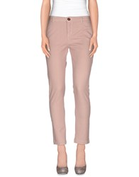 Circolo 1901 Trousers Casual Trousers Women Pastel Pink