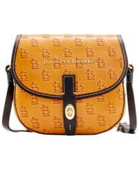 Dooney And Bourke St. Louis Cardinals Leather Field Bag Red