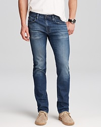 Ag Adriano Goldschmied Jeans Matchbox Slim Fit In 10 Years Hollow