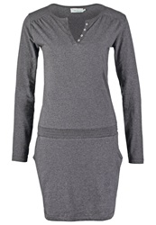 Twintip Jersey Dress Dark Grey Mottled Dark Grey