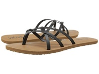 Volcom New School 2 Black Women's Sandals