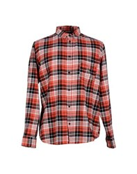 Cheap Monday Shirts Shirts Men Red