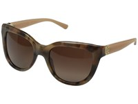 Tory Burch 0Ty7088 Milky Blush Brown Gradient Polarized Fashion Sunglasses