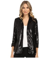 Sam Edelman Sequin Blazer Black Women's Jacket