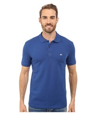 Lacoste Stretch Petit Piqu Slim Fit Polo Sailboat Men's Short Sleeve Pullover Multi
