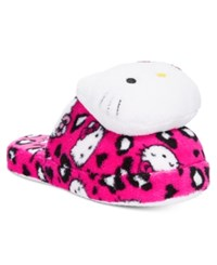 Hello Kitty Plush Head Slippers Pink