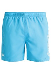 Arena Fundamentals Swimming Shorts Turquoise White