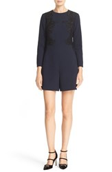 Ted Baker Women's London 'Aysa' Embroidered Applique Romper