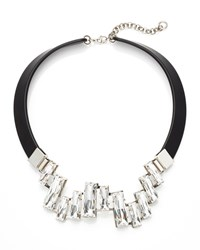 Crystal Cluster Collar Necklace Lafayette 148 New York
