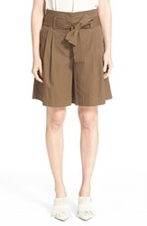 Women's 3.1 Phillip Lim Paperbag Belted Waist Shorts