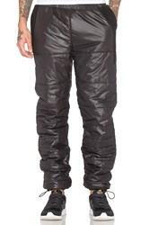 Black Scale Stevenson Pants Black
