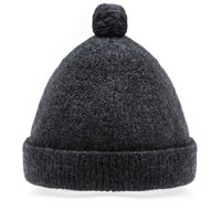 Nigel Cabourn Solid Pom Pom Hat Grey