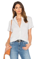 Levi's Holly Short Sleeve Button Up White