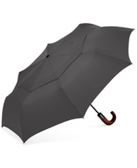 Shedrain Automatic Open Close Folding Umbrella Charcoal