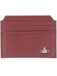 Vivienne Westwood Classic Card Holder Red