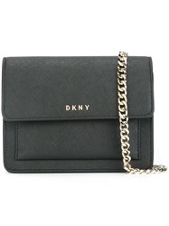 Dkny Small Flap Crossbody Bag Black