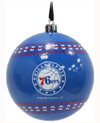 Memory Company Philadelphia 76Ers Ugly Sweater Ball Ornament Red
