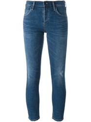 Citizens Of Humanity 'Elsa' Mid Rise Jeans Blue