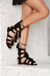 Jeffrey Campbell Hang Of Four Suede Sandal