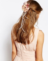 Asos Wedding Floral Banquet Hair Corsage Clip Multi