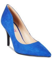 Mojo Moxy Dolce By Tammy Pointed Toe Pumps Women's Shoes Cobalt