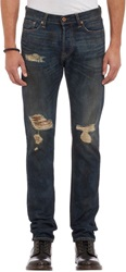 Nsf Ripped And Repaired Jeans Blue Size 30W