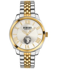 Versus By Versace Men's Chelsea Two Tone Ion Plated Bracelet Watch 42Mm Sov040015 No Color