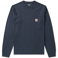 Carhartt Long Sleeve Pocket Tee Blue