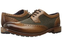 Ted Baker Cassiuss 4 Tan Brown Men's Lace Up Wing Tip Shoes