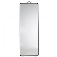 Norm Floor Mirror Black Mirrors Decoration Finnish Design Shop