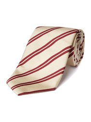 Chester Barrie Silk Tie Wine