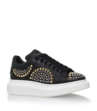 Alexander Mcqueen Studded Leather Sneakers Female Black