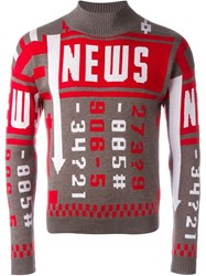 J.W.Anderson J.W. Anderson 'News' Sweater Brown